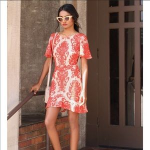 For love & lemons beautiful dress.